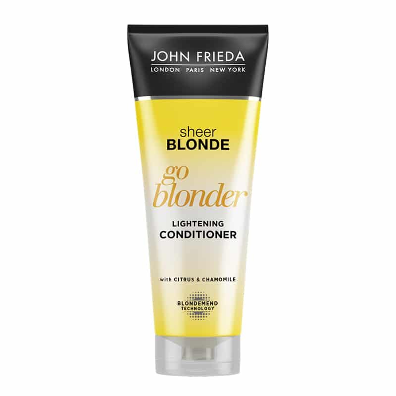 John Frieda Go Blonder Conditioner 250ml tube