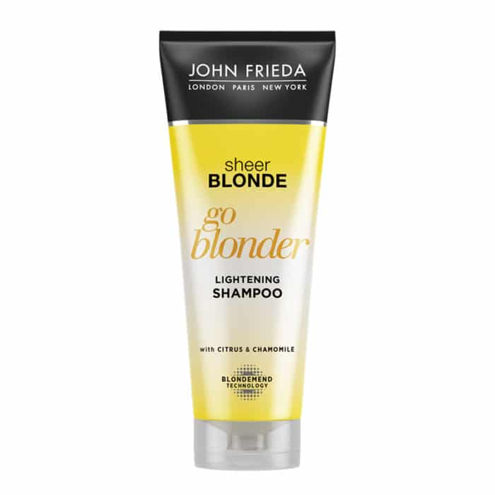 John Frieda Go Blonder Shampoo 250ml tube