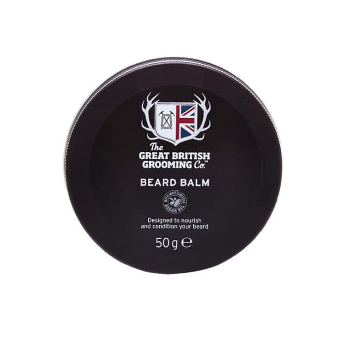 The Great British Grooming Beard Balm 50g can