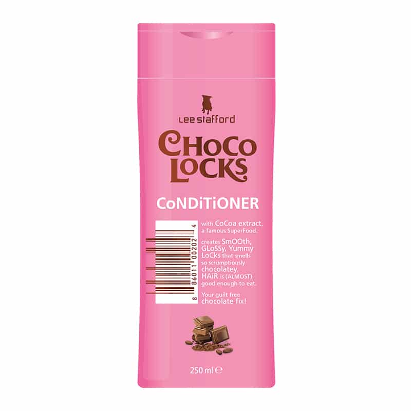Lee Stafford Choco Locks Conditioner 250ml bottle