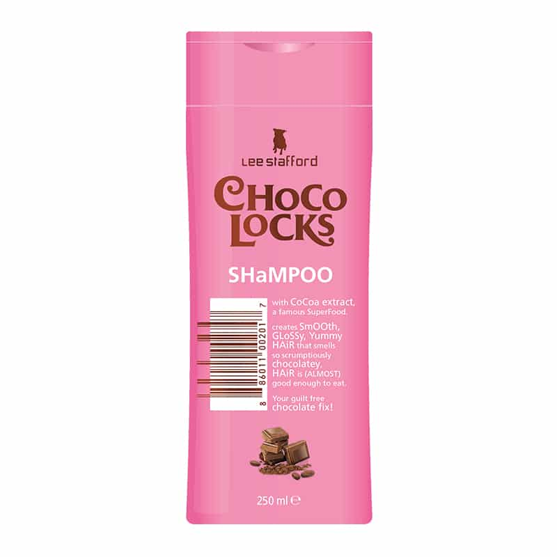 Lee Stafford Choco Locks Shampoo 250ml tube