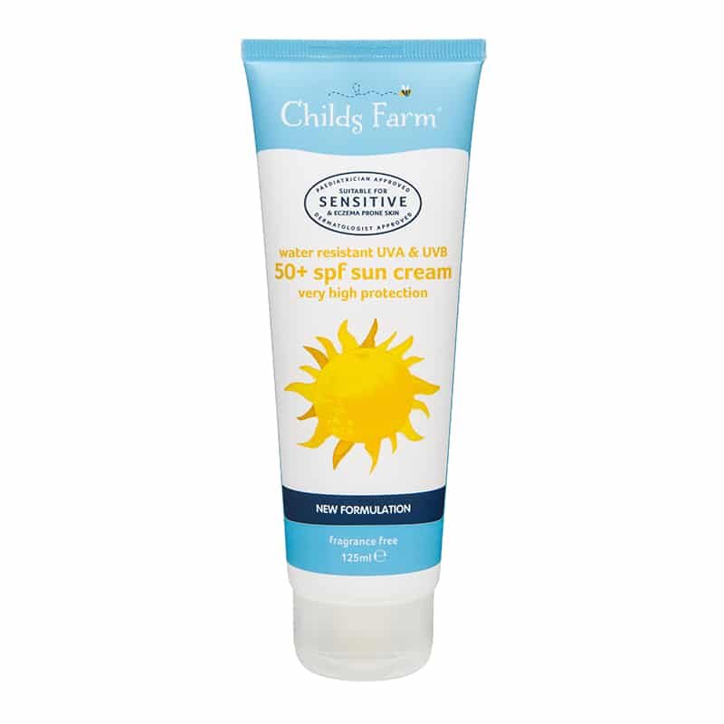 Childs Farm Sun Cream 50 SPF 125ml bottle