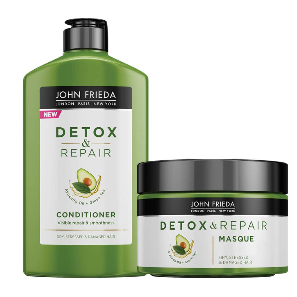JF_Detox&Repair Conditioner and Masque bottles