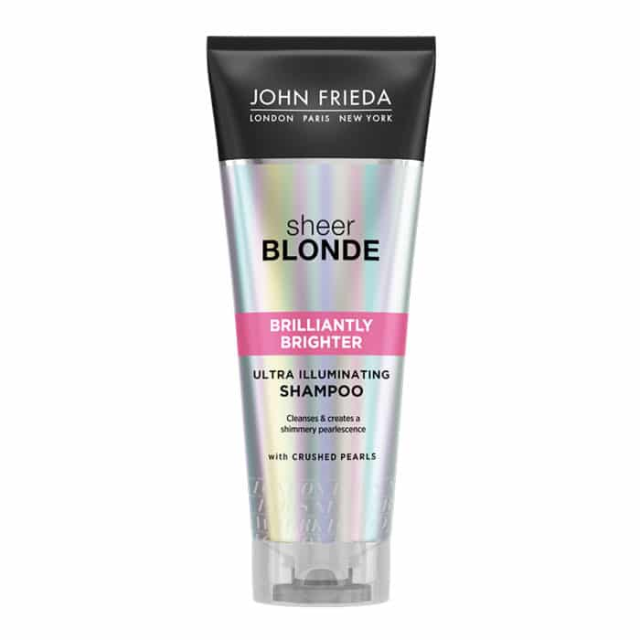 John Frieda Brilliantly Brighter Shampoo 250ml bottle