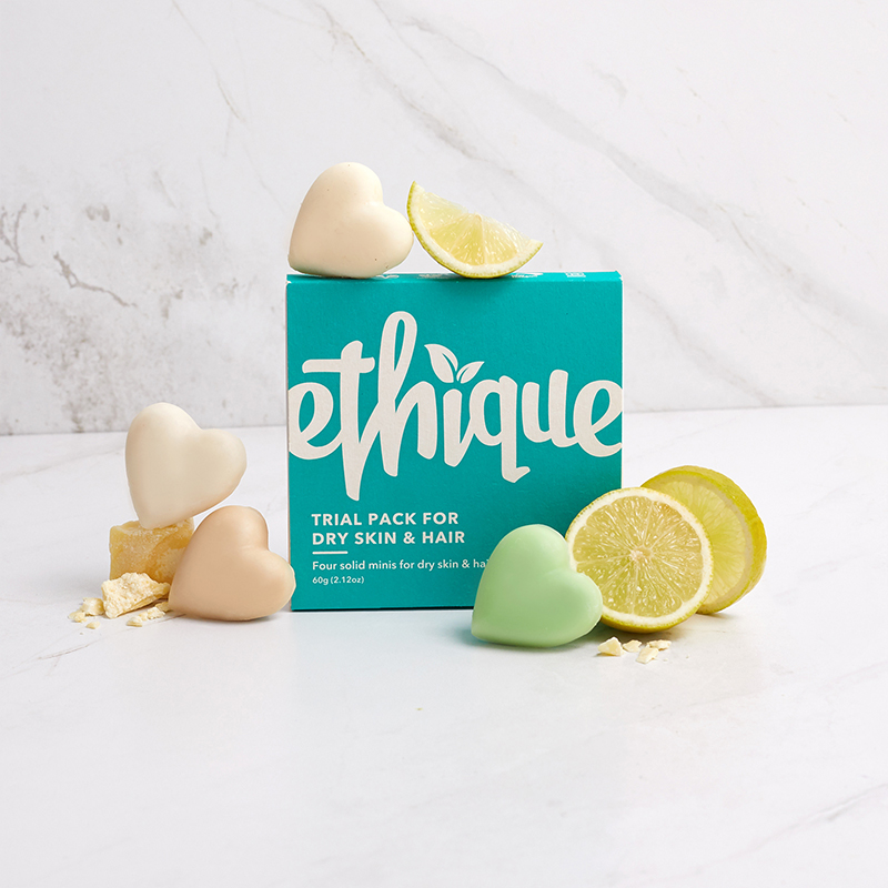 Ethique Trial Pack For Dry Skin & Hair