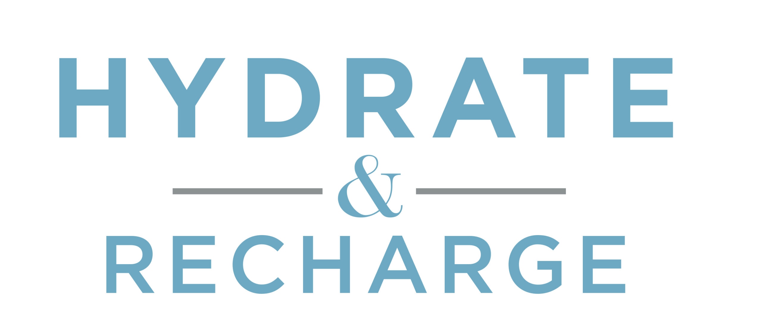 Hydrate & Recharge Logo